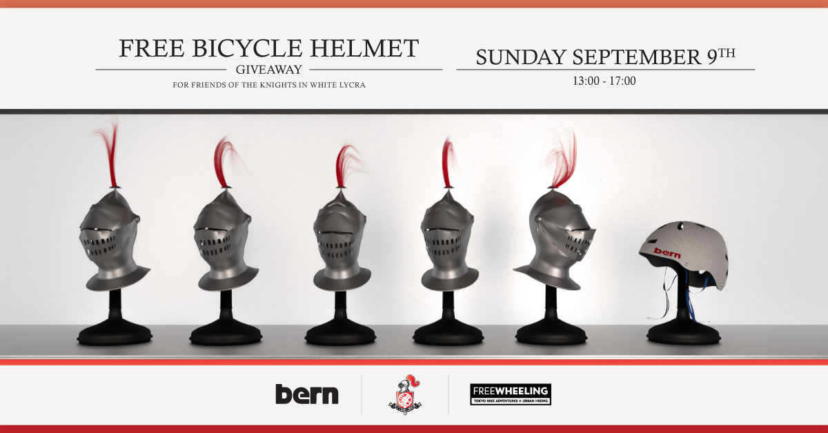 Knights In White Lycra - Bern Helmet Give-a-way
